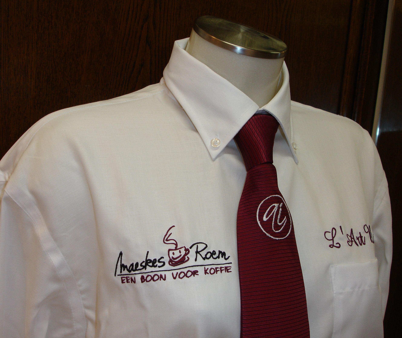 Borduurwerk op hemd